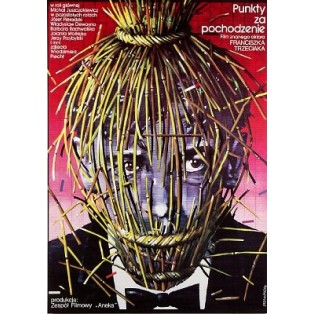 Punkty za pochodzenie Franciszek Trzeciak Lex Drewinski Polnische Filmplakate