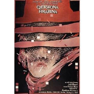 Rote Gräfin Andras Kovacs Witold Dybowski Polnische Filmplakate