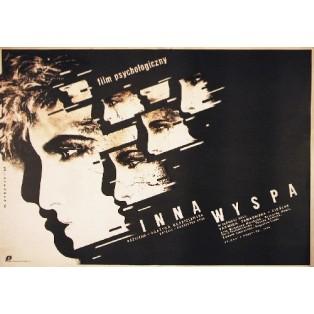 Andere Insel Grażyna Kędzieżawska Witold Dybowski Polnische Filmplakate