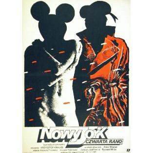 New York, 4 Uhr morgens Krzysztof Krauze Witold Dybowski Polnische Filmplakate