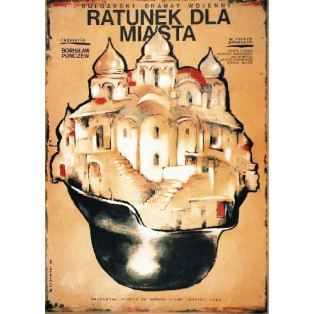 Salvation Petar Peychev Witold Dybowski Polnische Filmplakate