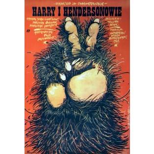 Bigfoot und die Hendersons Jakub Erol Polnische Filmplakate