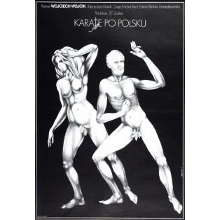 Karate auf polnisch Jakub Erol Polnische Filmplakate