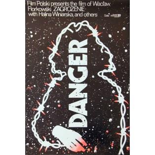 Danger Jakub Erol Polnische Filmplakate