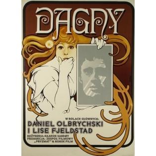 Dagny Haakon Sandoy Jakub Erol Polnische Filmplakate