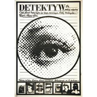 Detektiv Vladimir Fokin Jakub Erol Polnische Filmplakate