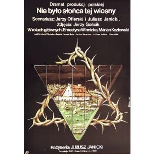 In jenem Frühling Juliusz Janicki Jakub Erol Polnische Filmplakate