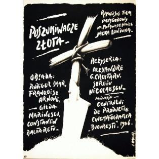 Goldsucher, Sergiu Nicolaescu Jakub Erol Polnische Filmplakate