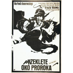 Auge des Propheten Paweł Komorowski Jakub Erol Polnische Filmplakate