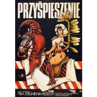Beschleunigung Zbigniew Rebzda Jakub Erol Polnische Filmplakate
