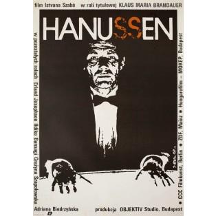 Hanussen Jakub Erol Polnische Filmplakate