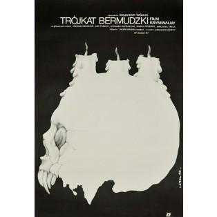 Bermuda-Dreieck Jakub Erol Polnische Filmplakate