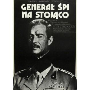 Generale dorme in piedi Jakub Erol Polnische Filmplakate