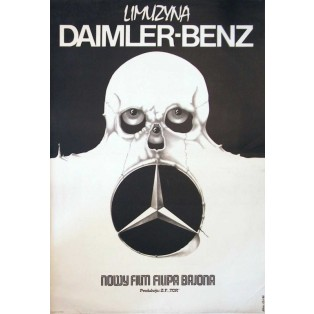 Daimler-Benz Limousine Jakub Erol Polnische Filmplakate