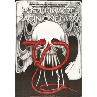 Jäger des verlorenen Schatzes Jakub Erol Polnische Filmplakate