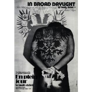 In Broad Daylight Jakub Erol Polnische Filmplakate