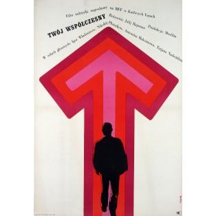 Dein Zeitgenosse Jerzy Flisak Polnische Filmplakate