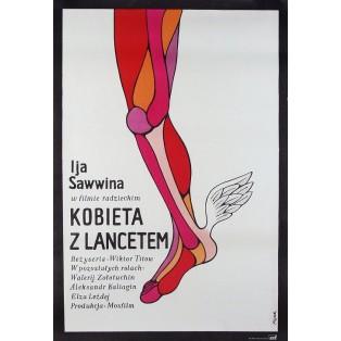Alltag der Ärztin Kalinnikowa Jerzy Flisak Polnische Filmplakate