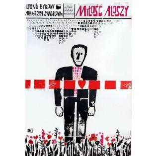 Aljoschas Liebe Jerzy Flisak Polnische Filmplakate