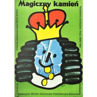Blaue Licht Jerzy Flisak Polnische Filmplakate