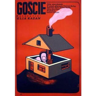 Besucher Jerzy Flisak Polnische Filmplakate