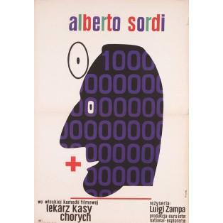 Be Sick... It's Free Jerzy Flisak Polnische Filmplakate