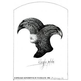 Theaterkonfrontationen Oppeln - 8. Eugeniusz Get Stankiewicz Polnische Theaterplakate