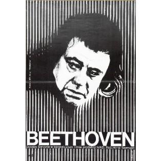 Beethoven - Tage aus einem Leben Horst Seemann Wiktor Górka Polnische Filmplakate