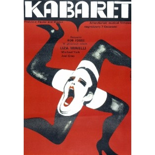 Kabaret Bob Fosse Wiktor Górka Polnische Filmplakate