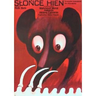 Sonne der Hyänen Ridha Behi Wiktor Górka Polnische Filmplakate