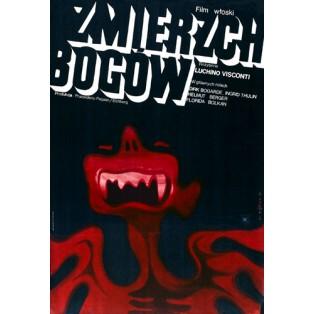 Verdammten Luchino Visconti Wiktor Górka Polnische Filmplakate