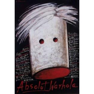 Absolut Warhola Stanisław Mucha Mieczysław Górowski Polnische Filmplakate