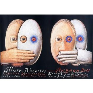 Affiches Polonaises 2001 Mieczysław Górowski Polnische Ausstellungsplakate