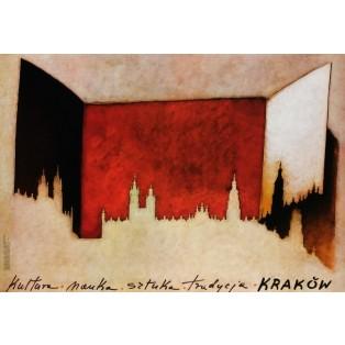 Krakau: Kultur, Wissenschaft... Mieczysław Górowski Polnische Plakate
