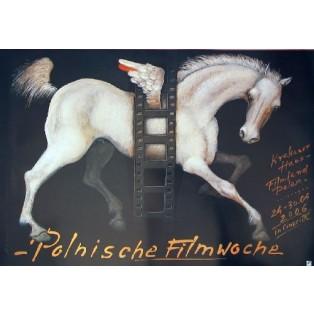 Polnische Filmwoche Mieczysław Górowski Polnische Filmplakate
