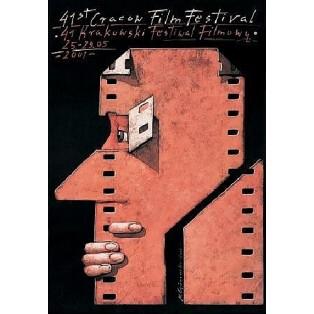 Krakauer Filmfestival - 41. Mieczysław Górowski Polnische Plakate