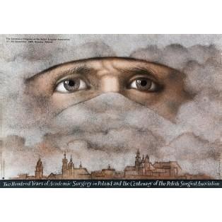 200 Years of Academic Surgery Mieczysław Górowski Polnische Plakate