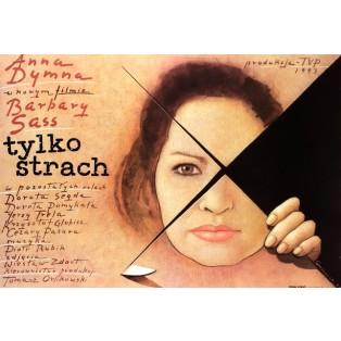 Nur Angst Mieczysław Górowski Polnische Filmplakate