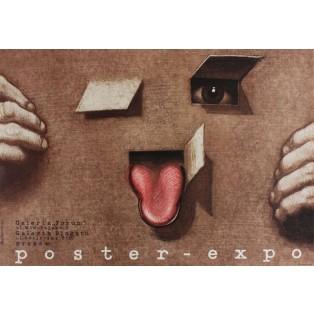 Poster Expo Mieczysław Górowski Polnische Ausstellungsplakate