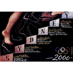 Sydney 2000 Mieczysław Górowski Polnische Plakate