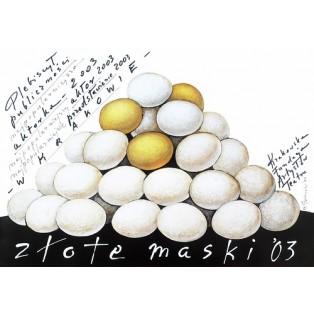 Goldene Masken 2003 Mieczysław Górowski Polnische Plakate