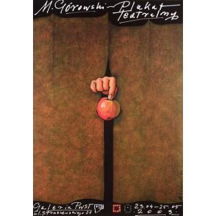 Theaterplakat PWST-Galerie Mieczysław Górowski Polnische Ausstellungsplakate