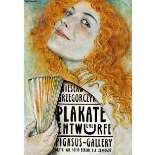 Plakate und Entwürfe Wiesław Grzegorczyk Wiesław Grzegorczyk Polnische Ausstellungsplakate