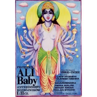 Ali Baba und die 40 Raeuber Latif Faiziyev Maria Ihnatowicz Polnische Filmplakate