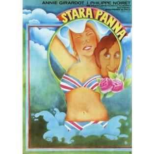 Späte Mädchen Jean-Pierre Blanc Maria Ihnatowicz Polnische Filmplakate