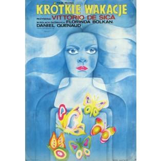 Kurzer Urlaub Vittorio De Sica Maria Ihnatowicz Polnische Filmplakate