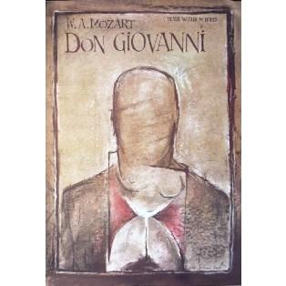 Don Giovanni Ryszard Kaja Polnische Opernplakate