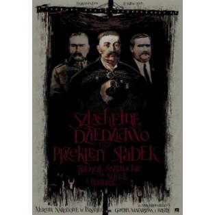 Edle Erbe Ryszard Kaja Polnische Ausstellungsplakate