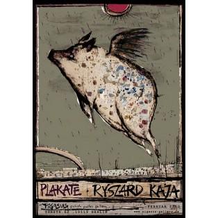 Ryszard Kaja Plakate Ryszard Kaja Polnische Ausstellungsplakate