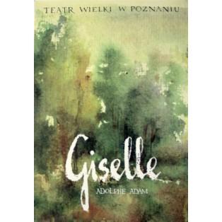 Giselle Adolphe Charles Adam Ryszard Kaja Polnische Opernplakate